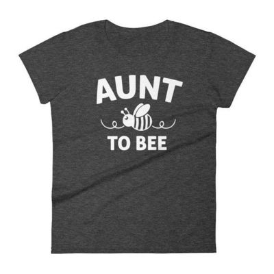 Aunt shirt announcement, Women's Aunt to bee t-shirt - gifts for first time Aunt, promoted to aunt, auntie to be, gift for new aunt $25.00