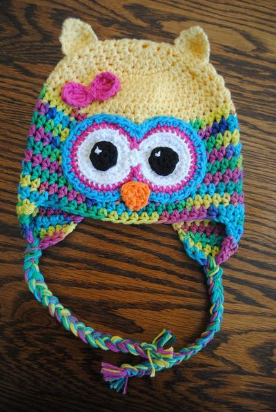 Cute Crochet Owl Hat Pattern From Cre8tioncrochet Oh My Go