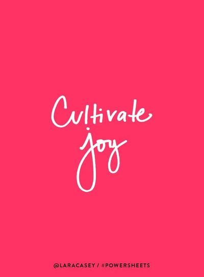 Cultivate #Joy in 2018