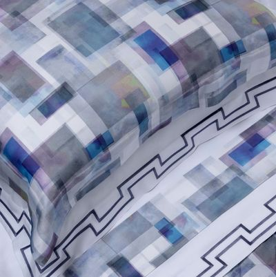 Murano Printed Bedding by Dea Linens $225.00