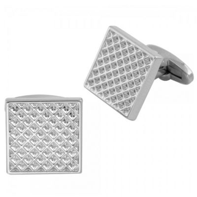 Silver Plated Square Molded Cuff Link �'�699.00
