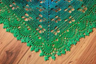 Knit Butterfly Stitch Scarf : Butterfly Stitch Prayer Shawl ~ free pattern ??... / crochet ideas and tips -...
