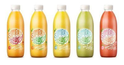 Simply wonderful, colourful, typographical #packaging!