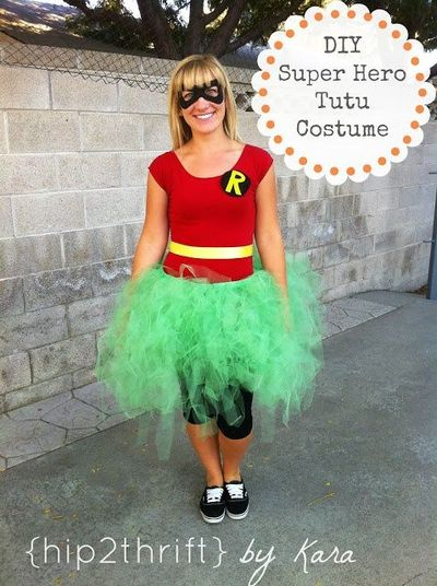 DIY Super Hero Tutu Costumes