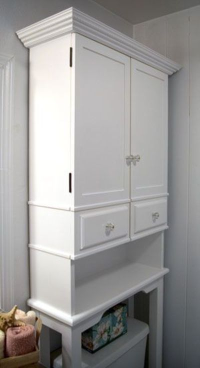 the runnerduck bathroom cabinet plan is a step by step inst bath