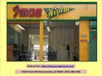 For Discount Smog Check visit Smog Sacramento, CA