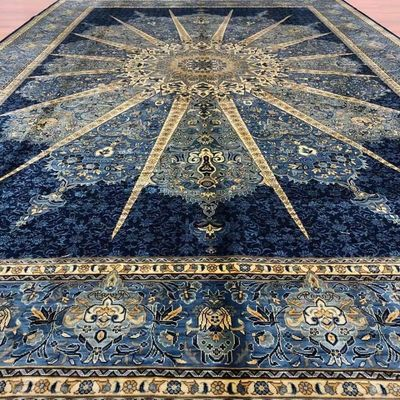 Handmade pure silk Turkish carpet $790.00