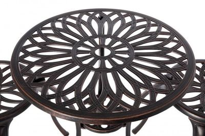 Theon Antique Bronze 3pc Bistro Set $159.99