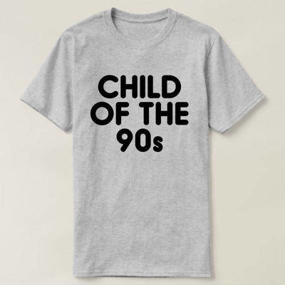 Child Of The 90s Shirt, Ladies Unisex Crewneck T-shirt, Child Of The 90s T-shirt, 90s T-shirt, Funny Shirts School $16.50