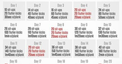 Total Abs 30 Day Challenge Cardio Workout Video