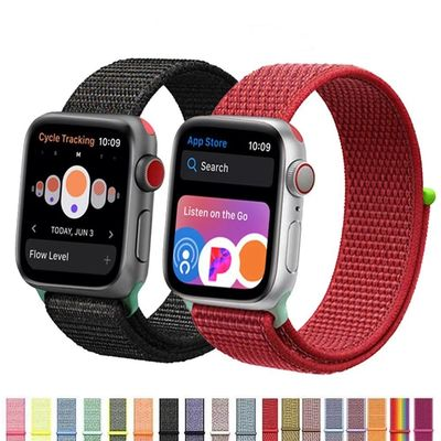 Nylon Sport Loop Strap For Apple Watch series 4 3 2 1 $25.99