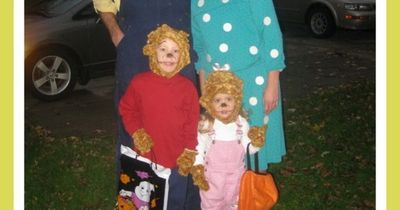 The Berenstain Bears family costume! I'd probably never be able to talk the hubby into this but we love the Bears!!!! :)