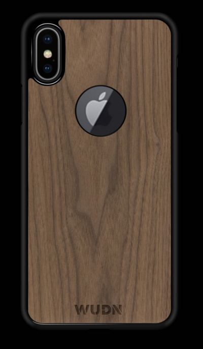 Slim Wooden Apple Logo Cut-out Case for iPhone $28.80