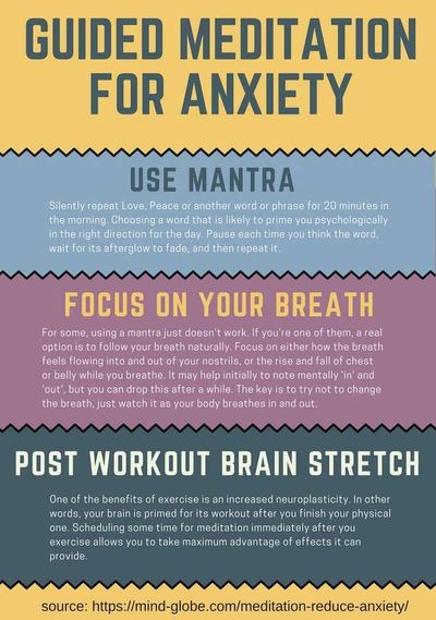 It is possible to reduce anxiety with meditation? Discover a suitable guided meditation set of techniques for anxiety!
