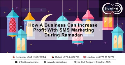 What all thing customers will do in this festival about how a business can increase profit with SMS marketing during Ramadan