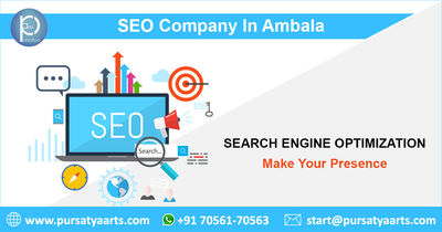 Pursatya Arts, one of the best SEO company in Ambala, we help our clients to attract customers. We work in a team of dedicated professionals with more than decades of SEO experiences.