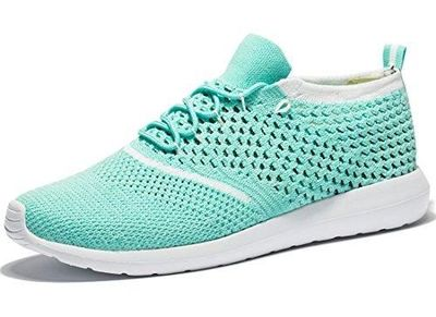 Tianui Women's Athletic Shoes Casual Fashion Mesh Walking Sneakers Breathable Running Shoes $16.99