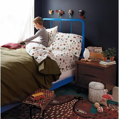 Cotton Canvas Expeditionary Duvet Cover | The Land of Nod