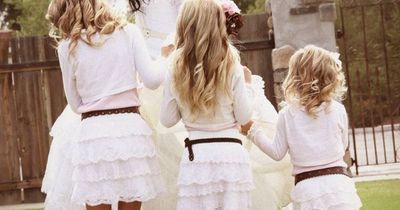 Flower Girls in Cowboy Boots - Photos by Natalie