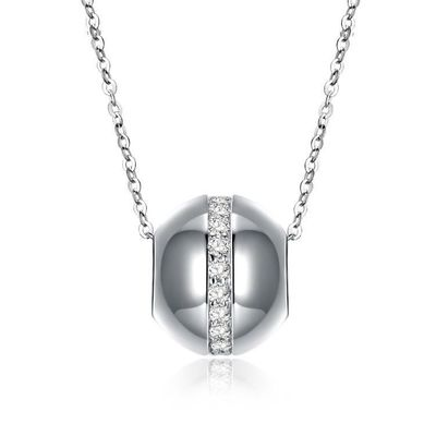 Swarovski Crystal 18K White Gold over Sterling $36.00 Free Shipping