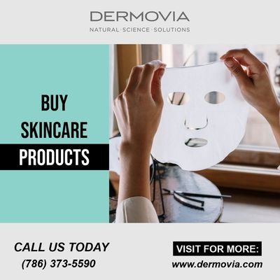 Buy the best quality skincare product in just one click. visit the website and explore the wide range of cosmetic products.  https://www.dermovia.com/