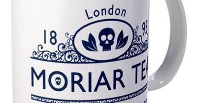 """""""Moriar Tea"""" -- Jim Moriarty, probably the most epic part of Sherlock. Love it."""