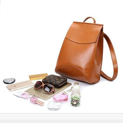 Fashion Women Backpack High-Quality Youth Leather Backpacks for Teenage Girls Female School Shoulder Bag Backpack