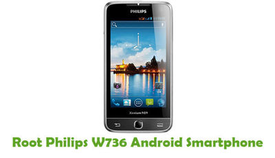 You can be able to root your Philips W736 Android Smartphone from this tutorial guide.
