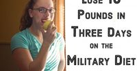 I developed the three-day Military Diet weight loss menu plan. Here are menus for each day, a shopping list, exercises, and success stories from those who have