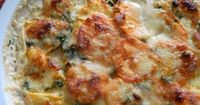 Simple, but different from the traditional dish of scalloped potatoes! Servings 2-4 persons �™� Ingredients *1 medium rutabaga (about 1.5 pounds), peeled and slic