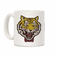 Tiger in a Bow Tie Ceramic Coffee Mug $15.99 �œ�Handcrafted in the USA! �œ�