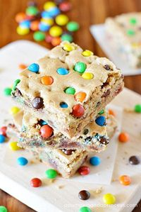 This recipe for these soft and chewy M&M'S Blondies from APumpkinAndAPrincess.com is perfect for any occasion.
