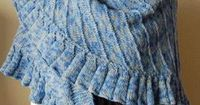 Ravelry: Ruffled Shawl pattern by Gail Tanquary