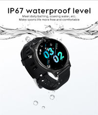 Bakeey Q20 Full Touch Steel Band Wristband Heart Rate and Blood Pressure Monitor Music Control Smart Watch