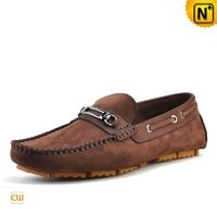 Leather Driving Horsebit Loafers for Men CW740336