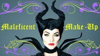 Learn how to make yourself up like #Maleficent in this tutorial! #makeup #DIY