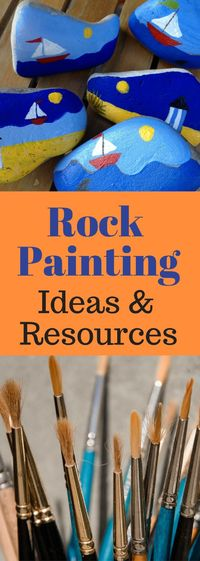 Spreading joy to others has now become an obsession. If you're looking for rock painting ideas and how to get started, you've come to the right place.