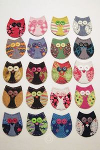 HollyCraft Originals makes THE best fabric appliques I've ever seen. Her designs are adorable & she hand-sews all of them herself!