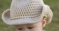 Free Baby Crochet Patterns | Baby Cowboy Crochet Pattern Cowboy Hat for BOOT SCOOT'N Cowboy Hat ...