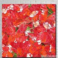Happiness Petals Hand Painted On Canvas Oil Painting
