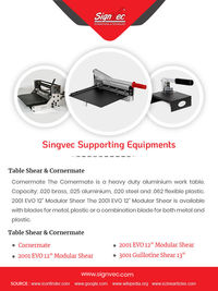 Signvec Supporting Equipments Suppliers