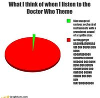 This made me laugh so hard, because it's so true! You can't not sing along to the theme.