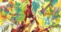 Avengers - Marvel 75th Anniversary - Alex Ross...This seriously needs to be a poster!