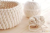 bowl/ basket, crochet pattern - newcrochet