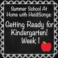 This post gives parents lesson plans for one whole week to help them get their children ready for Kindergarten.