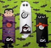 Halloween Candy Bar Wrappers by !Beth! - Cards and Paper Crafts at Splitcoaststampers
