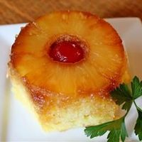 This is a FABULOUS pineapple upside down cake -postthis recipe and try it!