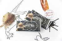 Printable Reptile Party Chocolate Candy Bar Wrappers Bearded Dragon Birthday Personalized Custom Decor Favors Thank You Gifts Chalkboard $5.35