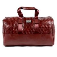 V 1969 Italia Mens Handbag Dark Red JEFF $340.00