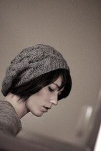 slouchy beret free pattern...link is below in comments section